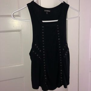 Black tank top from Express
